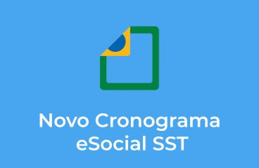 Novo Cronograma eSocial SST